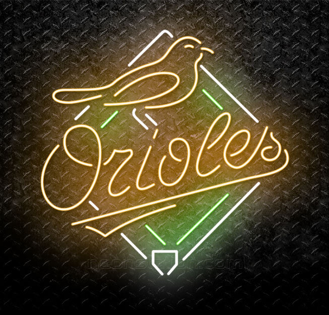 MLB Baltimore Orioles Neon Sign