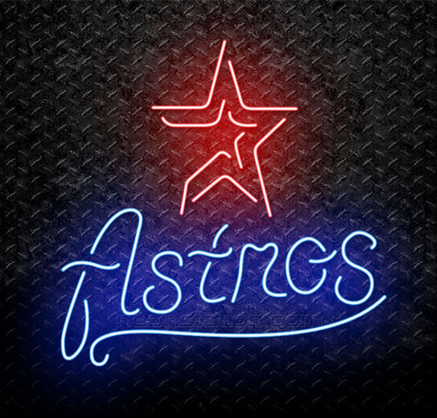 MLB Houston Astros Neon Sign