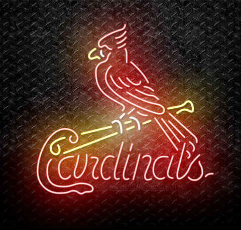 MLB St. Louis Cardinals Neon Sign