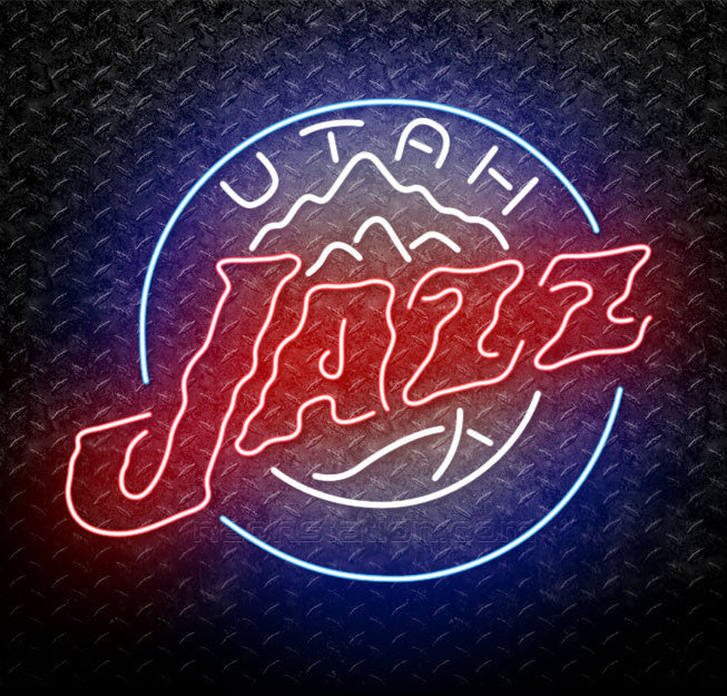 NBA Utah Jazz Neon Sign
