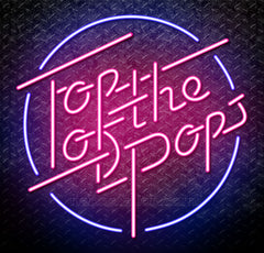 TOTP Top Of The Pops Neon Sign