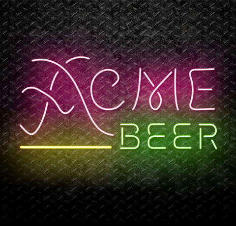 ACME California IPA Beer Neon Sign
