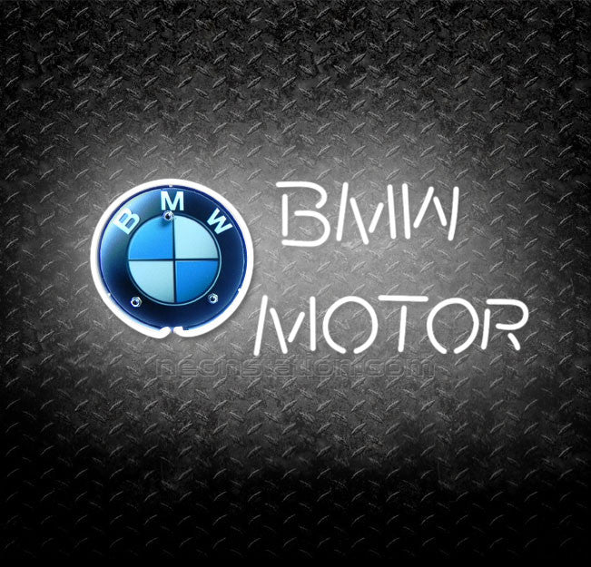 BMW Motor Neon Sign