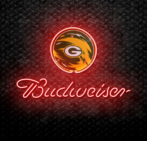 NFL Green Bay Packers Budweiser Neon Sign