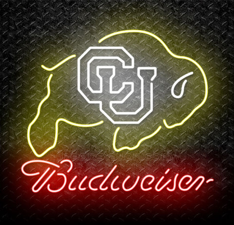 University of Colorado Buffaloes Neon Sign