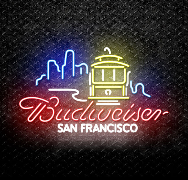 Budweiser San Francisco Neon Sign