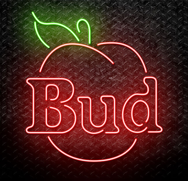 Bud Apple Neon Sign