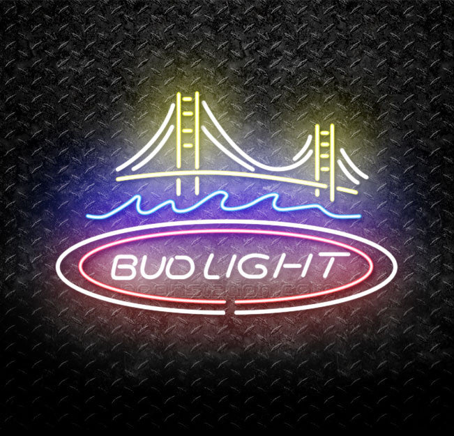 Bud Light Bridge Neon Sign