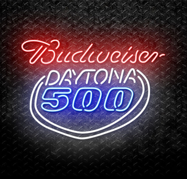 Budweiser Daytona 500 Neon Sign