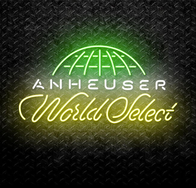 Anheuser-Busch World Select Neon Sign