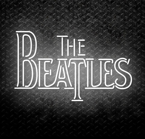 The Beatles Neon Sign
