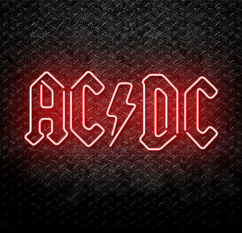 ACDC AC/DC Neon Sign