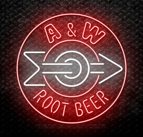 A&W Root Beer Neon Sign