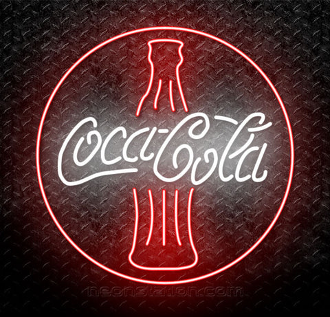 Coca Cola Coke Bottle Neon Sign