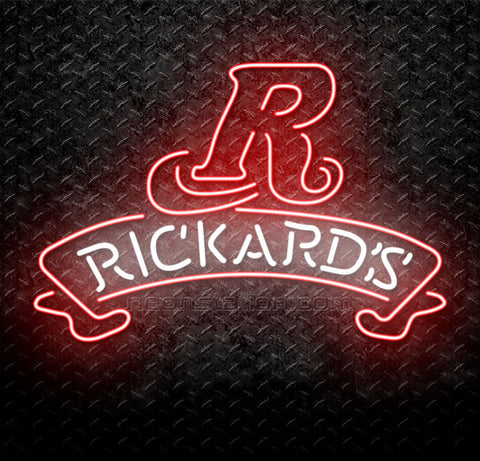 Rickards Red Beer Neon Sign