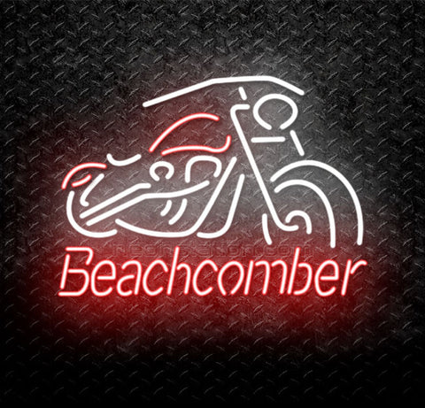 Beachcomber Motorcycles Neon Sign