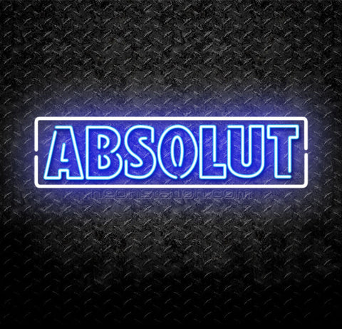 Absolut Vodka Neon Sign