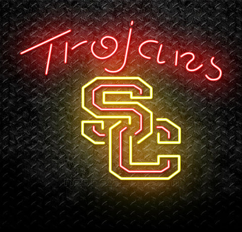 NCAA USC Trojans Neon Sign