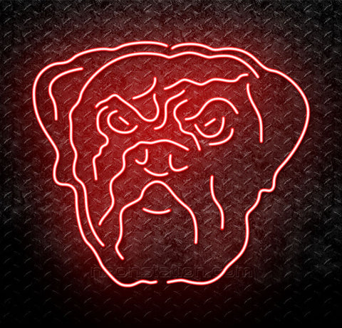 NFL Cleveland Browns Dawg Pound Neon Sign