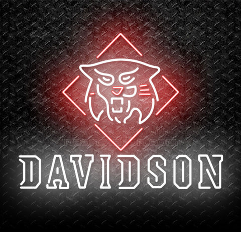 NCAA Davidson Wildcats Neon Sign