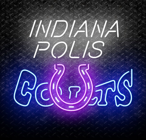 NFL Indianapolis Colts Neon Sign