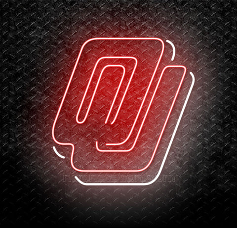 NCAA Oklahoma Sooners OU Neon Sign