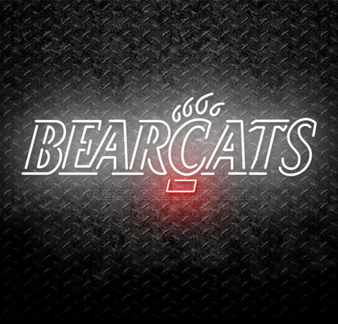 University Of Cincinnati Bearcats Neon Sign