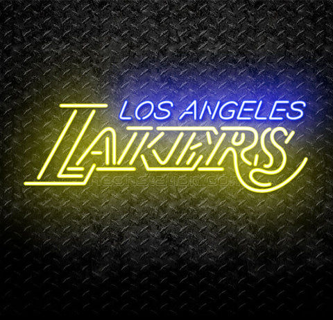 NBA Los Angeles LA Lakers Neon Sign
