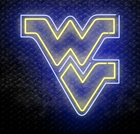 NCAA WVU West Virginia University Neon Sign