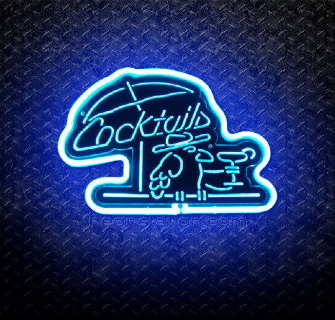 Cocktails 3D Neon Sign