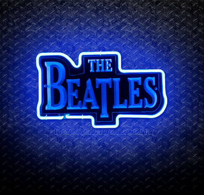 The Beatles 3D Neon Sign