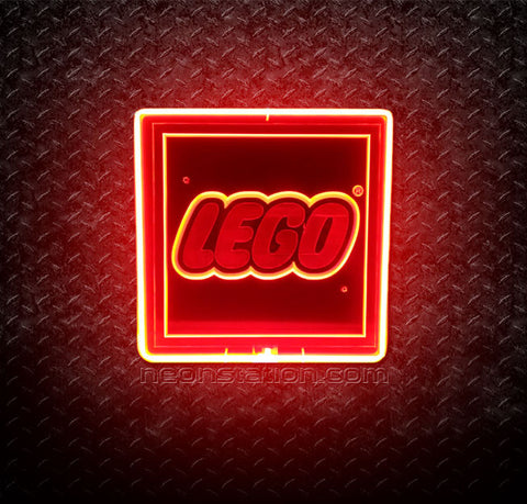 Lego 3D Neon Sign