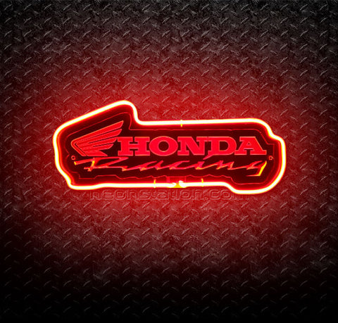 Honda Racing 3D Neon Sign