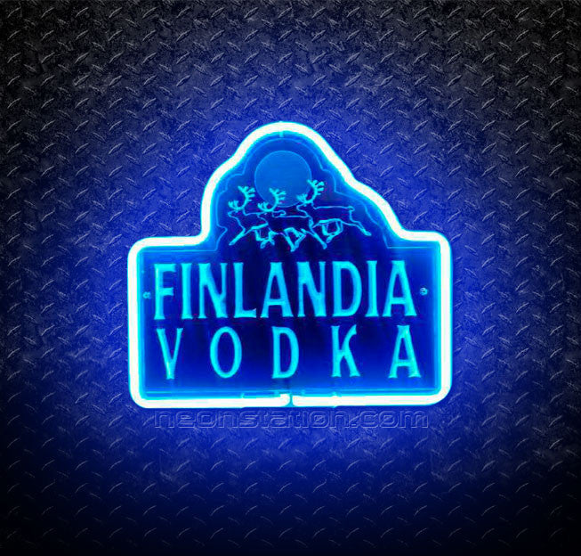 Finlandia Vodka 3D Neon Sign
