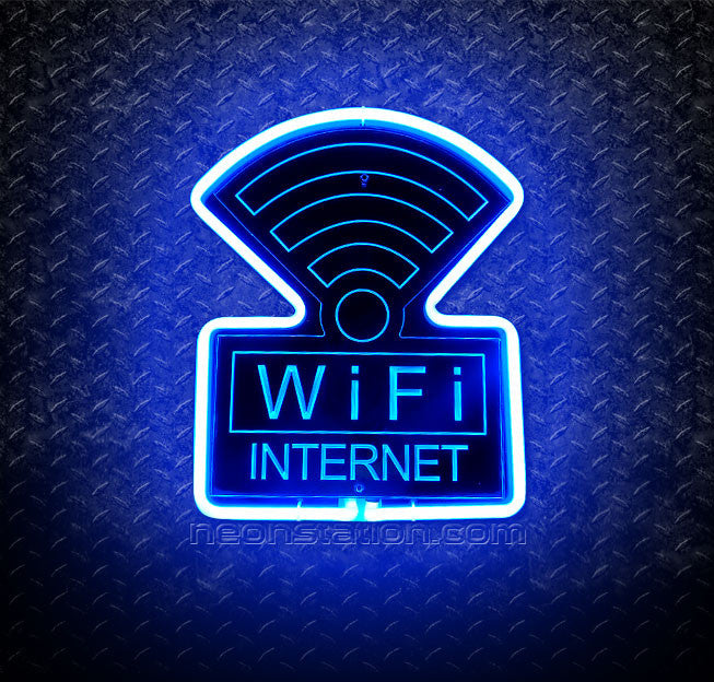 Wifi Internet 3D Neon Sign