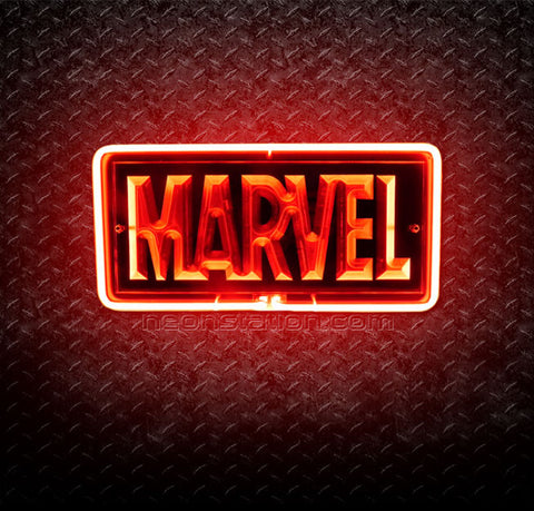 Marvel Comics 3D Neon Sign