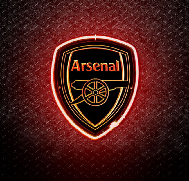Arsenal FC 3D Neon Sign