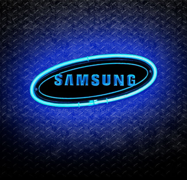 Samsung 3D Neon Sign