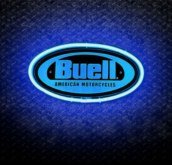 Buell American Motorcycles 3D Neon Sign