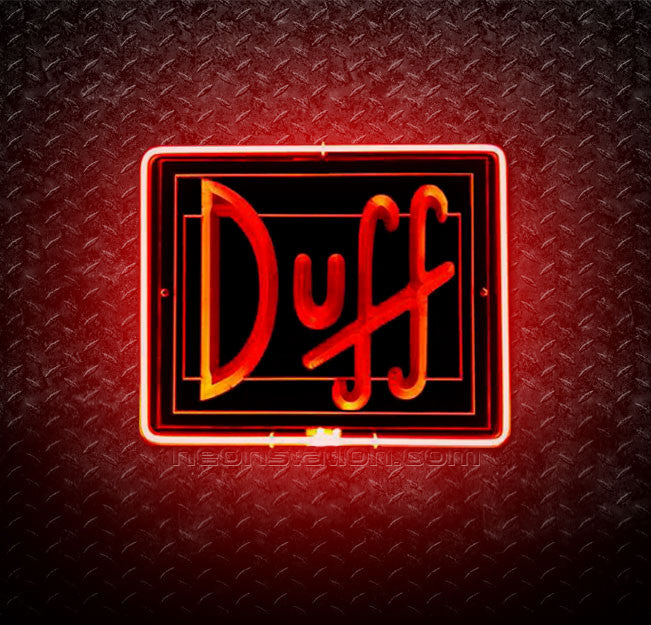 Duff Beer 3D Neon Sign