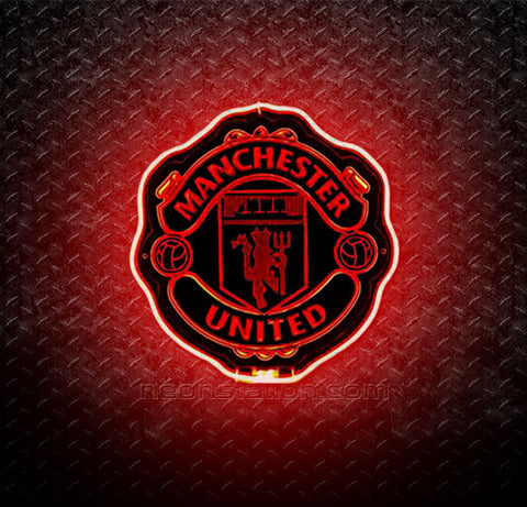 Manchester United FC 3D Neon Sign