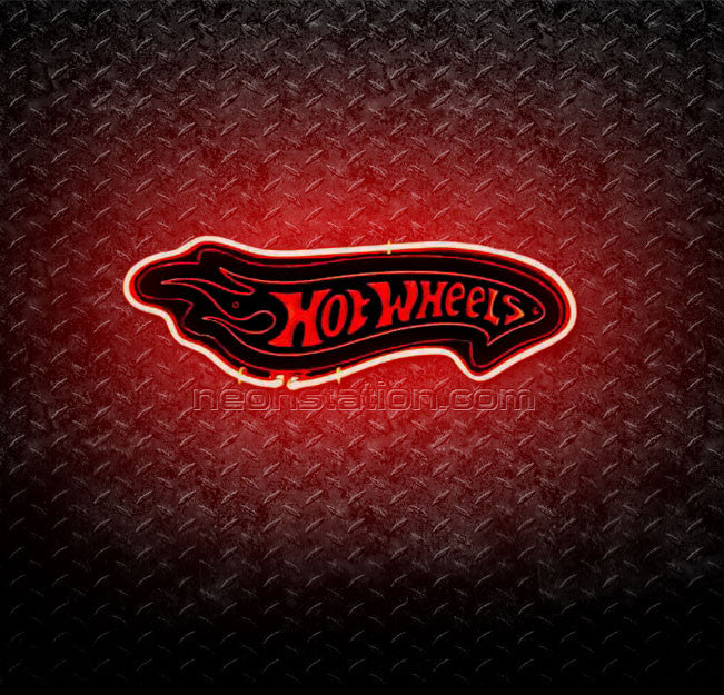 Hot Wheels 3D Neon Sign