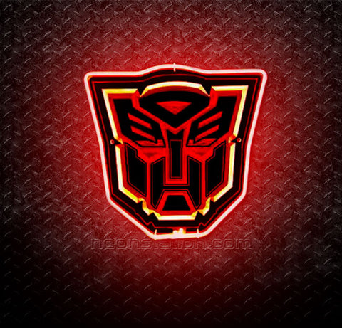 Transformers Autobots 3D Neon Sign