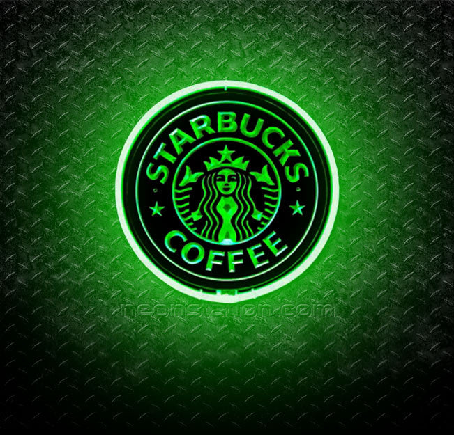 Starbucks Coffee 3D Neon Sign