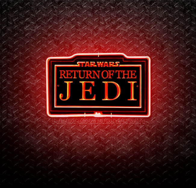 Star Wars Return of The Jedi 3D Neon Sign