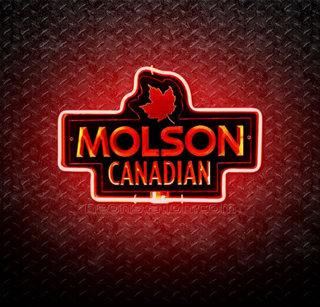 Molson Canadian 3D Neon Sign