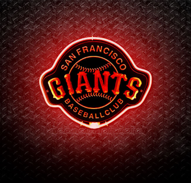 MLB San Francisco Giants 3D Neon Sign