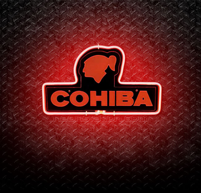 Cohiba 3D Neon Sign