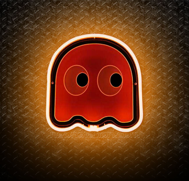 Pacman Clyde Pokey 3D Neon Sign
