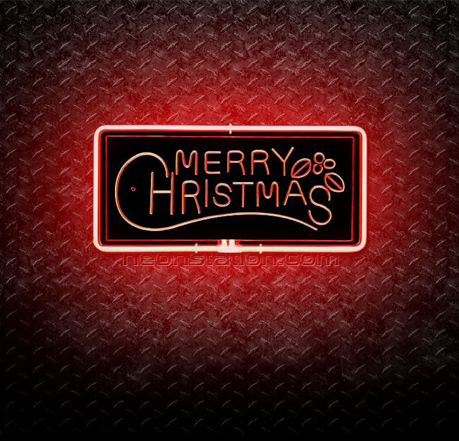Merry Christmas 3D Neon Sign